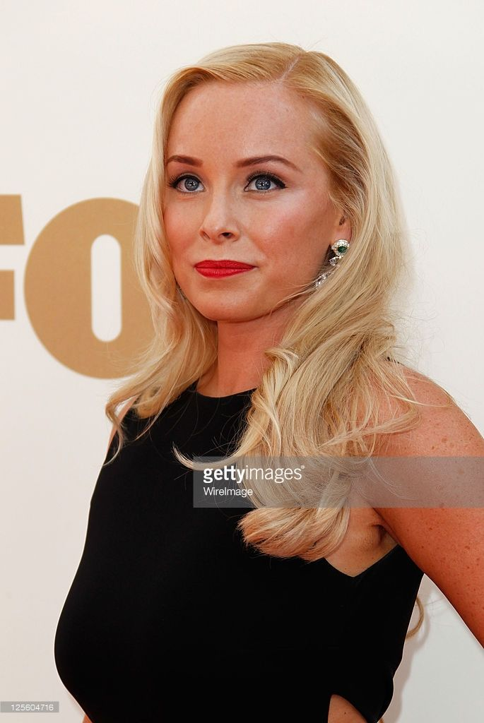 Actress Jaime Bergman arrives to the 63rd Primetime Emmy Awards at the Nokia Theatre L.A. Live on September 18, 2011 in Los Angeles, United States.
