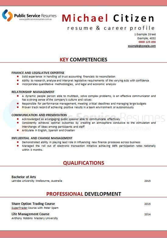 Below you will find our full gallery of professional and eye catching resume designs to choose from including full page, ¼ page or the option of no front page cover design which are located under Executive Style Design. Your writer via your consultation will discuss with you the most appropriate option for you depending on your personal taste or the role requirements.  Executive Resumes need to be clear and focused. Think about which skills and attributes the interview panel would value the…