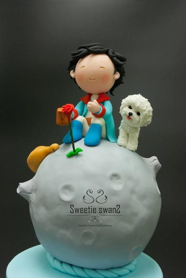 Little prince  little white by Phyllis Leung