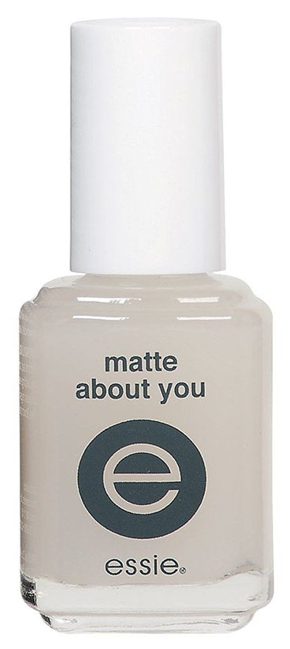 For instantly matte nails