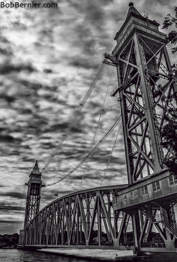 Day #347- Train Bridge, Buzzards Bay Massachusetts   Bob Bernier Photography