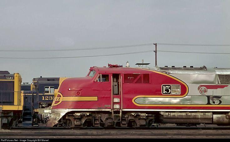 RailPictures.Net Photo: 15 Atchison, Topeka & Santa Fe (ATSF) EMC E6A at Kansas City, Kansas by Bill Marvel