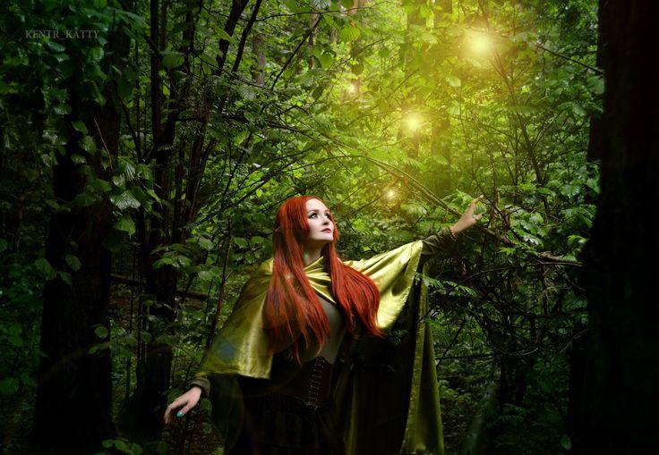 Elven forest. #elve #elven #ginger