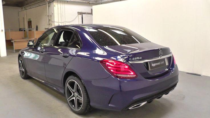 Mercedes-Benz C CLASS C220d 4Matic AMG Line 4dr Auto U27797