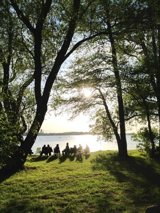 Naturcamping Zwei Seen am Ostufer des Plauer Sees / 17209 Zislow