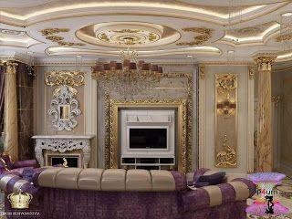 افضل ديكورات جبس اسقف راقيه 2019 Modern Gypsum Board For Walls And Ceilings Tv Stand Luxury Luxury House Interior Design Modern Classic Living Room
