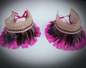 Cubre botas para decorar tus botas, botines o sandalias. Medida 30 cms. Elige tu color.