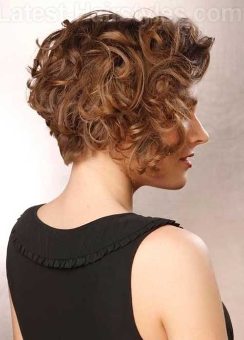 13 Best Short Layered Curly Hair Short Hairstyles 2016 2017 Intended For Short Curly Hairst Curly Hair Styles Short Layered Curly Hair Curly Bob Hairstyles
