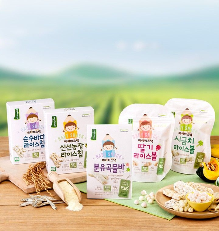 바른먹거리로 만든 아기간식-풀무원 베이비스낵 - 티몬 :: 비교할수록 쇼핑은 티몬! Baby snack PD
