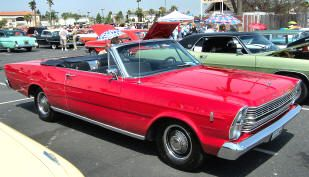 1966 Ford Galaxie 500 Convertible Classic American Ford Cars