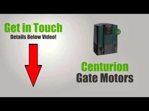 Centurion gate motors now available online. visit us here! >> Centurion Gate Motors --> http://www.youtube.com/watch?v=BXdKg8PXYaw