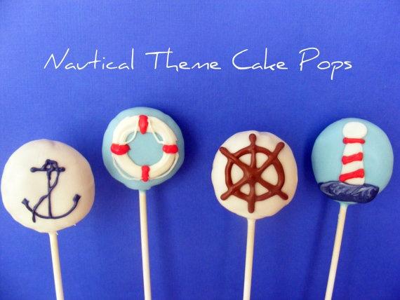 nautical cake pops   # Pin++ for Pinterest #