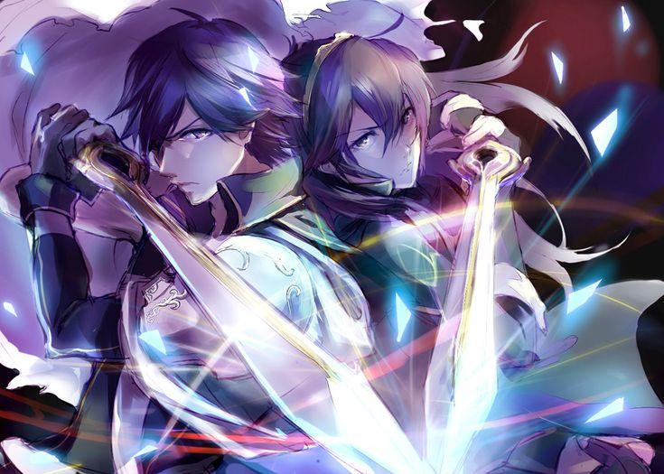 Chrom & Lucina fan art -Fire Emblem Awakening