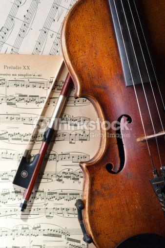 Stock Photo : Classic music