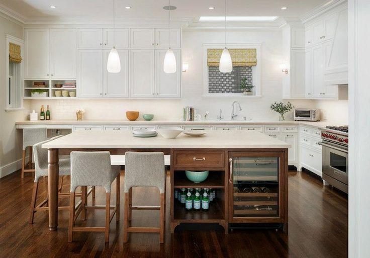 Restoration Warehouse Altamont Metal Pendant - Transitional - kitchen - Rubble Tile