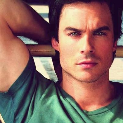 Ian Somerhalder, Vampire Diaries. I love Damon Salvatore