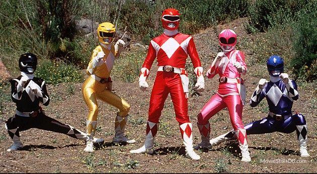 Mighty Morphin' Power Rangers - Publicity still