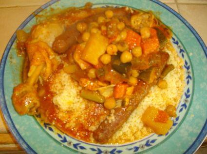 Couscous poulet merguez