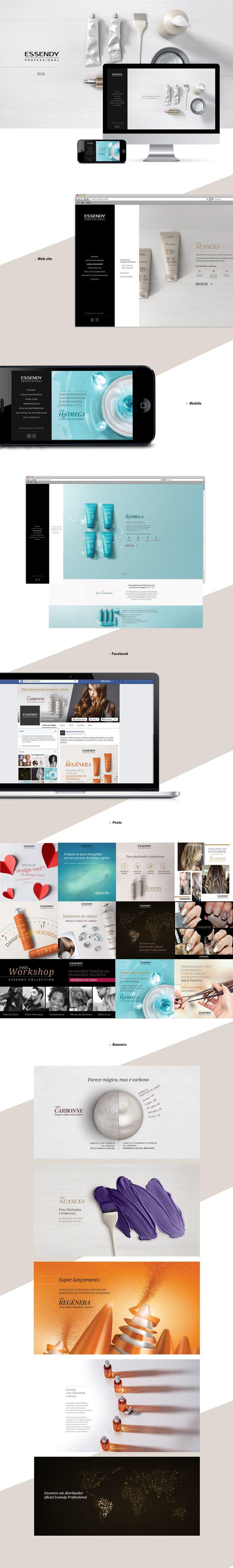 ID. Essendy Professional Web / Facebook on Behance