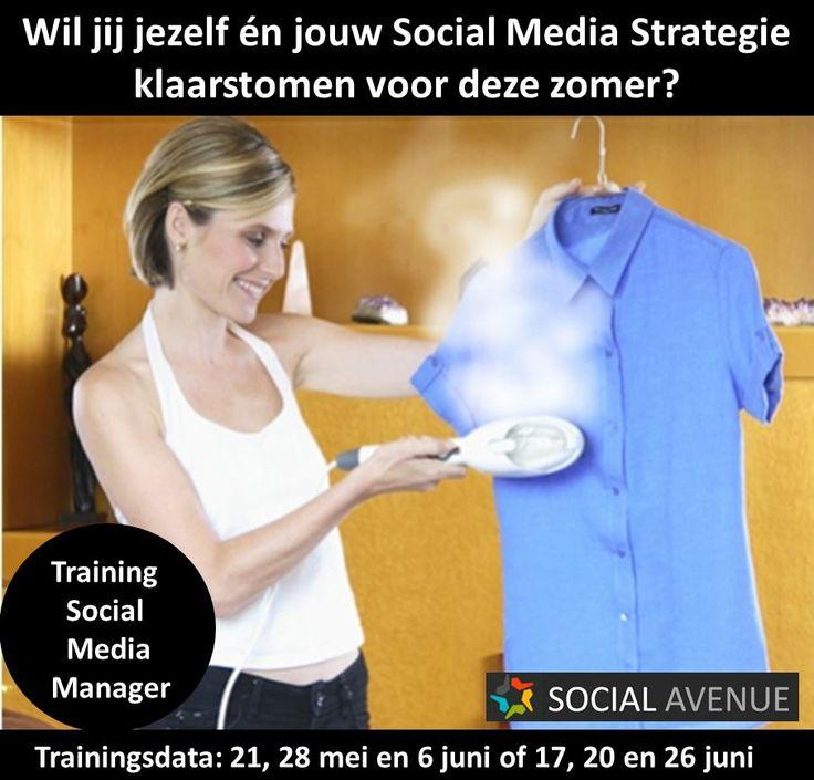 Jouw Social Media strategie klaarstomen voor de zomer? Volg de training #socialmedia manager bit.ly/1pbWgKY
