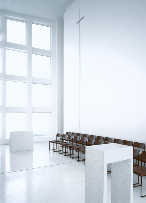 Bonifatius, Germany By Kor Architects _ White