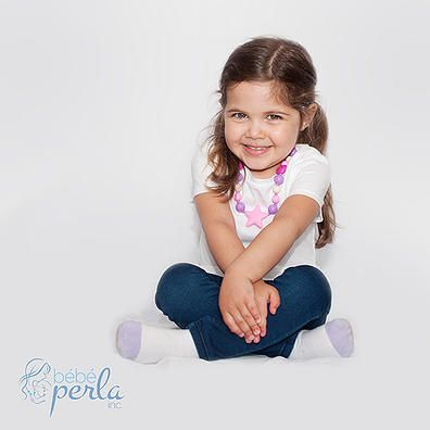 Click here to view ALL of our Little Girl necklaces www.bebeperla.com
