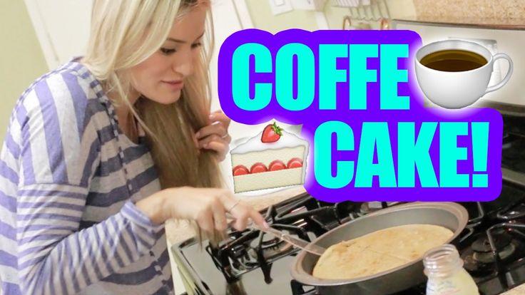 How To Make Coffee Cake! | iJustine