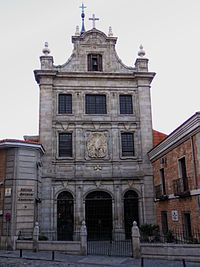 Iglesia del Sacramento (Madrid) - Iglesia catedral de las Fuerzas Armadas de España