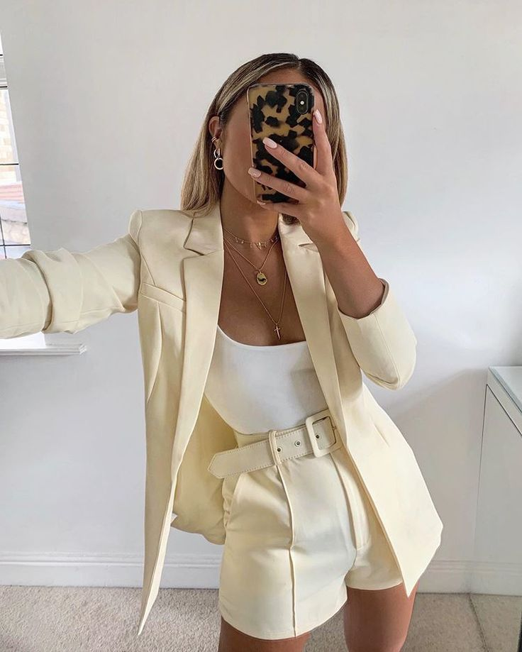 """LOUISA J. HEYWORTH on Instagram: """"Creamy ? outfit is from Veronica Vizzini ... 2"""