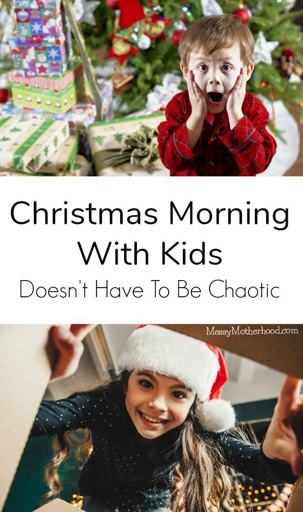 Opening Christmas Presents with kids doesn\u0027t have to be chaotic