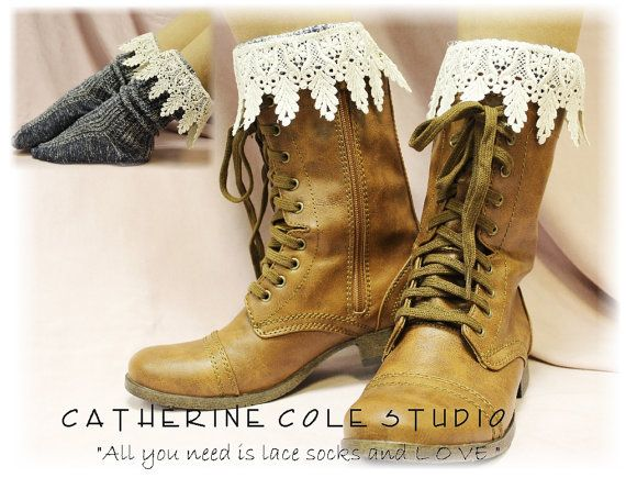 Boots and Lace boot socks!