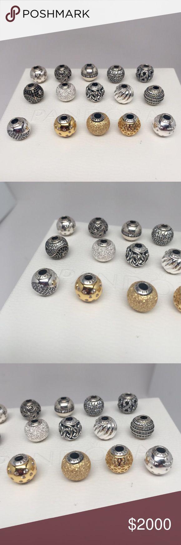 New Pandora Essence charms..make reasonable offer New gold and silver pandora essence bracelet charms. Will sell separately. All reasonable offers considered. Pandora Jewelry