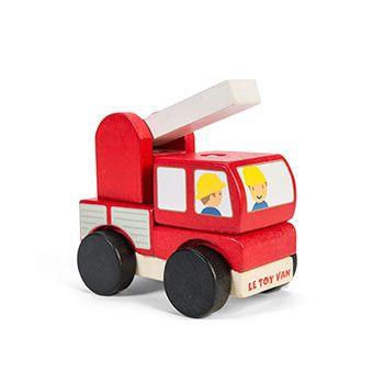 Συναρμολογούμενη Ξύλινη Πυροσβεστική της Le Toy Van