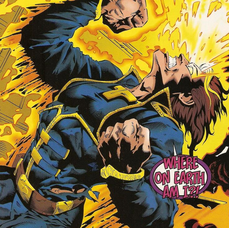 X-Man is an Omega-level mutant genetically created by Mr. Sinister from the Age of Apocalypse timeline. He shares the same genetic history as Cable. After returning from the dead Nate has joined the New Mutants and started a relationship with Dani Moonstar.