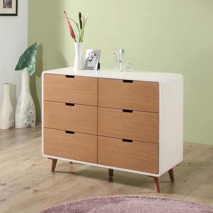 Euro 6-drawers cabinet
