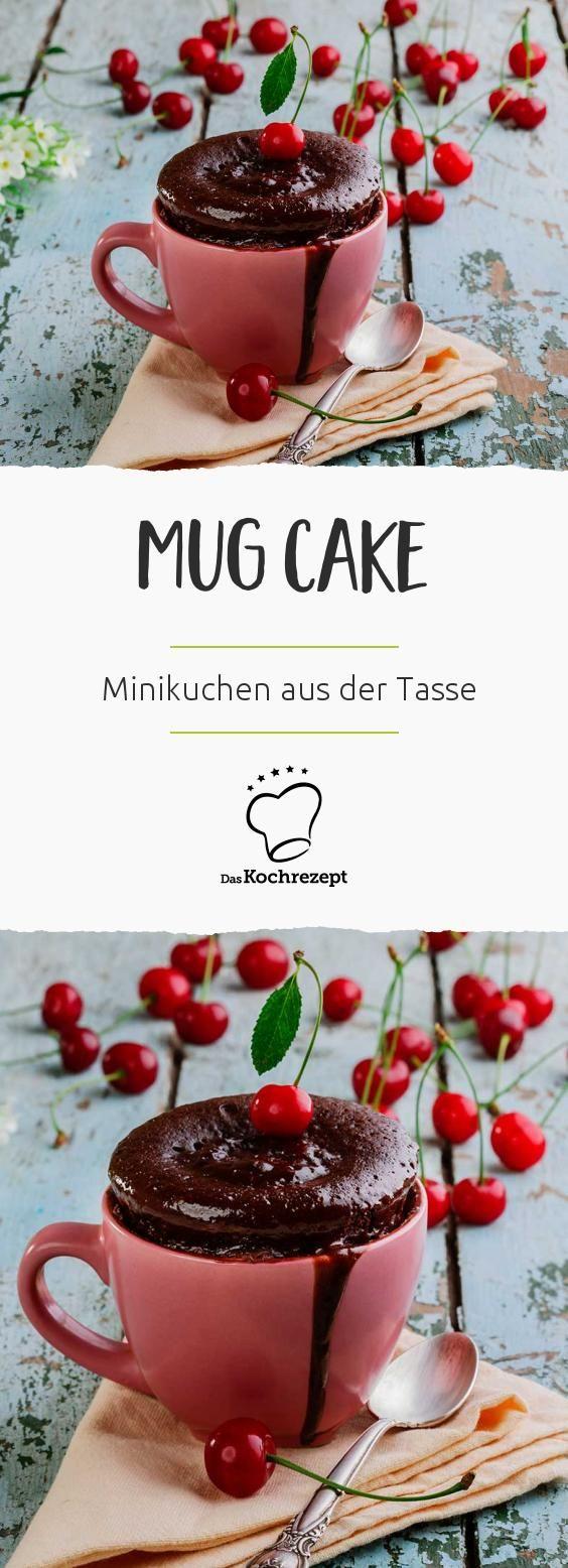 Sie sind das absolute Highlight bei Kuchenfans, die keine Zeit haben, aber trotzdem nicht auf süßes Gebäck verzichten wollen: Mug Cakes! Innerhalb von 5 Minuten entsteht in eurer Lieblingstasse ein herrlich saftiger Kuchen.