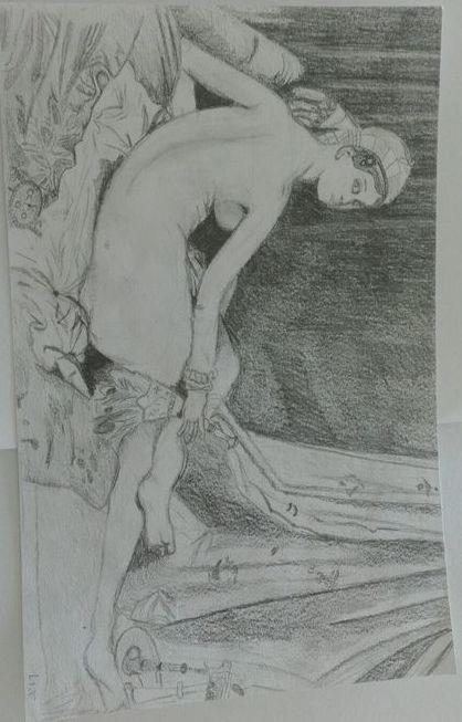 Tekening Ingres