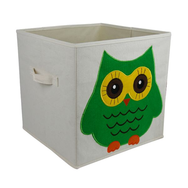 Household folding packaging shoe boxes fabric box printed