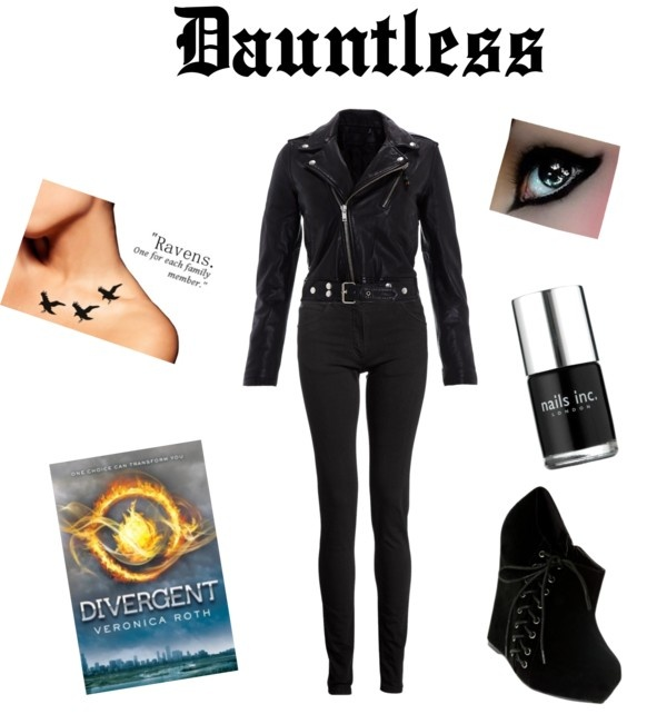 """""""Divergent Style Presents.... Dauntless"""" by Katie Brown on Polyvore"""