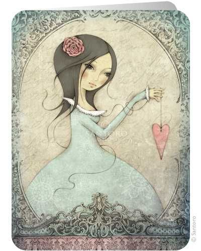 All for Love - Santoro's Eclectic Cards