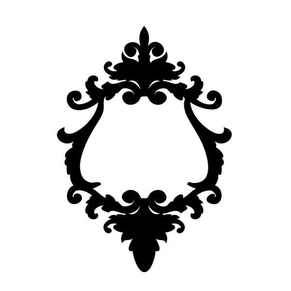 cadre baroque a imprimer | Envoyer à un ami Imprimer