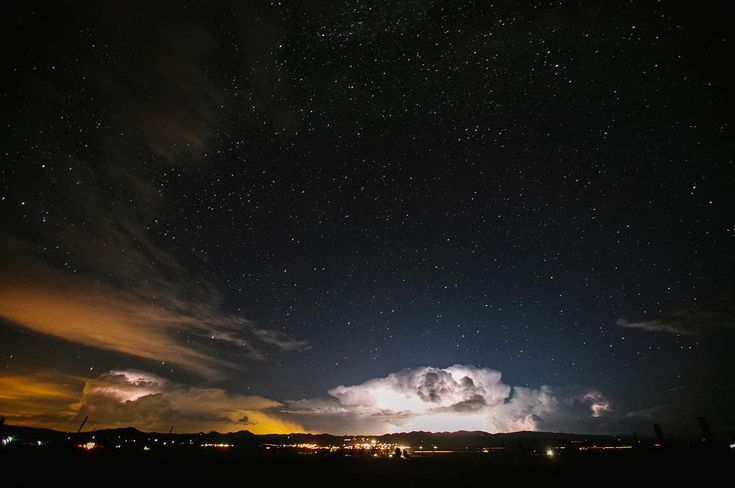 "181 gilla-markeringar, 4 kommentarer - WE ARE THE PARSONS (@wearetheparsons) på Instagram: ""Starlight + storm over the Wet Mountains, Colorado."""