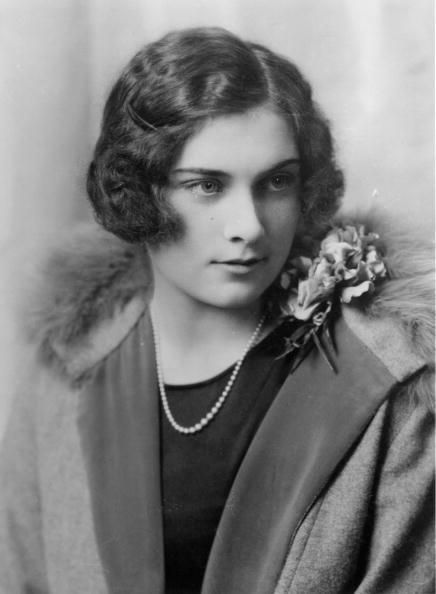 Lady Alice Montagu Douglas Scott (later Princess Alice, Duchess of Gloucester).