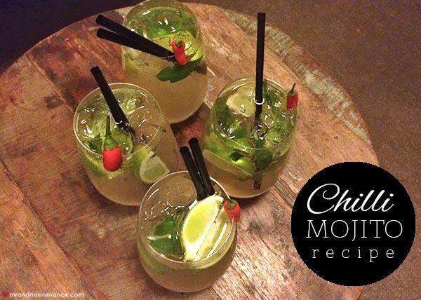 Mr and Mrs Romance - Chilli Mojito recipe - Spicers Tamarind