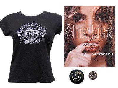 SHAKIRA CamisetaTOUR ORAL FIXATION NUEVA t-shirt T.S+FotoOficial/MiraFicha. Compralo Ya! o Hace una Oferta! y consiguelo por un buen precio. 100% de Confianza. envío mensajeros 48H.