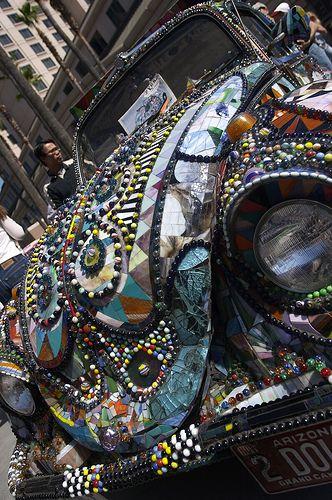 Mosaic Cars – San Jose Art Car Fest California « Mosaic Art Source