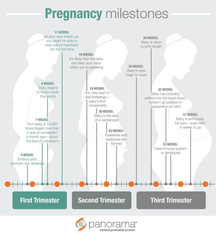 There are so many milestones in pregnancy—every week