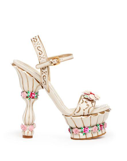 Dolce & Gabanna sweet treat shoe!: Dolce Gabbana, Women Accessories, Fall 2012, Dolce & Gabbana, Dolce And Gabbana, Mary Antoinette, High Heels, Gabbana Fall, Platform Sandals