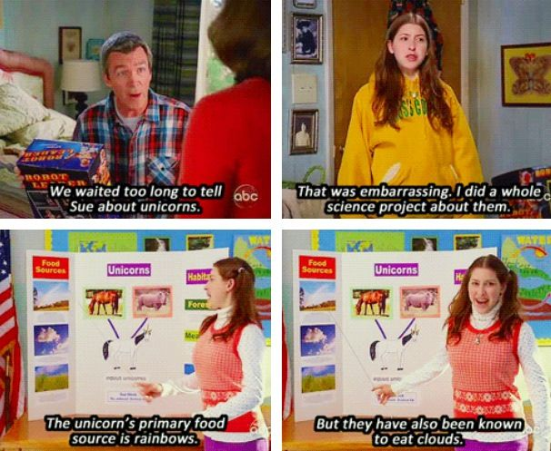 """""""The Middle"""" will always be one of my favorite shows. I love Sue Heck! (Basically because I'm just like her.)"""