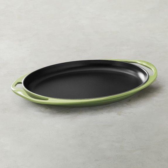Le Creuset Cast-Iron Sizzle Platter #williamssonoma